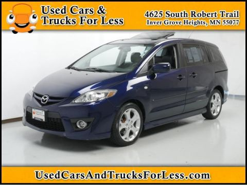 Pre-Owned 2009 Mazda5  Front Wheel Drive Mini-van Passenger