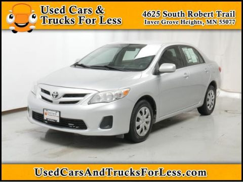 Pre-Owned 2011 Toyota Corolla  Front Wheel Drive 4dr Car