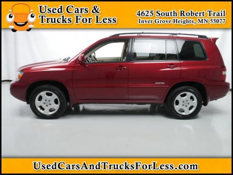 Pre-Owned 2006 Toyota Highlander  Four Wheel Drive Sport Utility