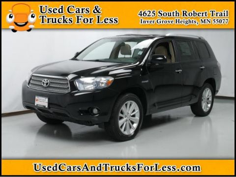 Pre-Owned 2008 Toyota Highlander Hybrid  Four Wheel Drive Sport Utility