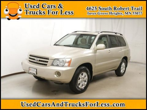 Pre-Owned 2002 Toyota Highlander  AWD