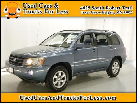 Pre-Owned 2003 Toyota Highlander Limited 4WD