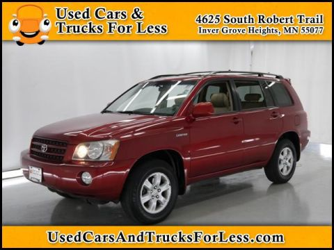 Pre-Owned 2002 Toyota Highlander Limited 4WD