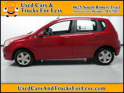 Pre-Owned 2009 Chevrolet Aveo  Front Wheel Drive 4dr Car