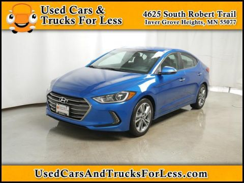 Pre-Owned 2017 Hyundai Elantra  FWD Sedan