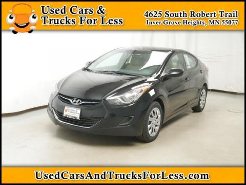Pre-Owned 2012 Hyundai Elantra  FWD Sedan