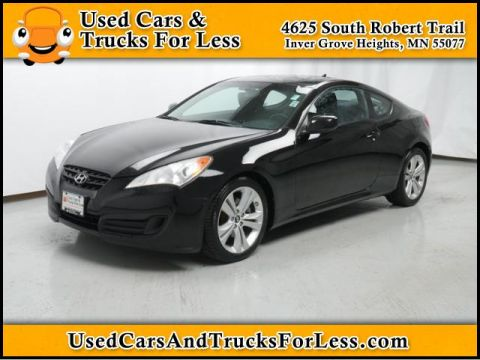 Pre-Owned 2010 Hyundai Genesis Coupe  Rear Wheel Drive 2dr Car