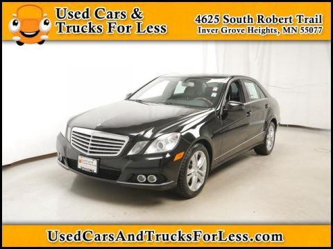 Pre-Owned 2011 Mercedes-Benz E-Class  4MATIC® Sedan