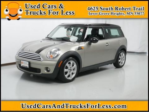 Pre-Owned 2008 MINI Cooper Clubman  FWD 2dr Car