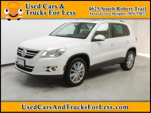 Pre-Owned 2010 Volkswagen Tiguan  Four Wheel Drive Sport Utility