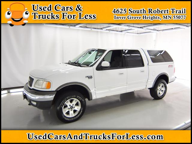 Pre-Owned 2002 Ford F-150 XLT 4WD