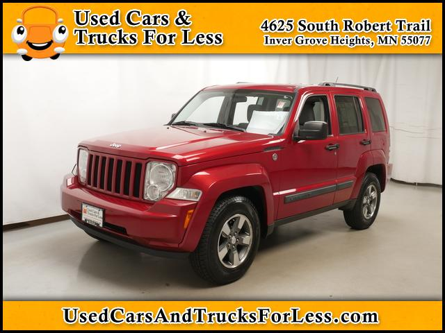 Pre-Owned 2008 Jeep Liberty