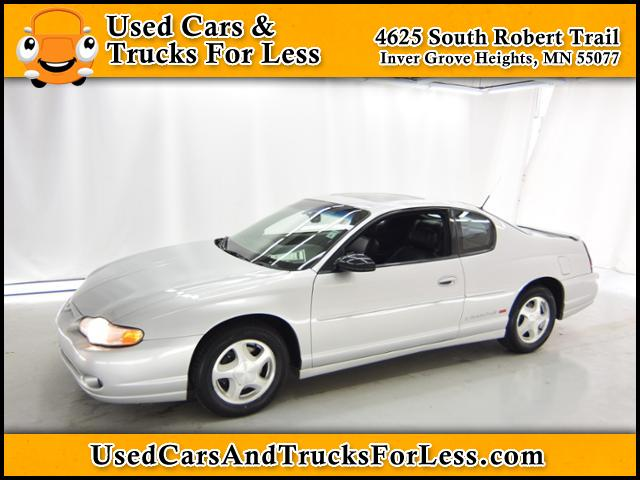 Pre-Owned 2002 Chevrolet Monte Carlo SS FWD 2dr Car