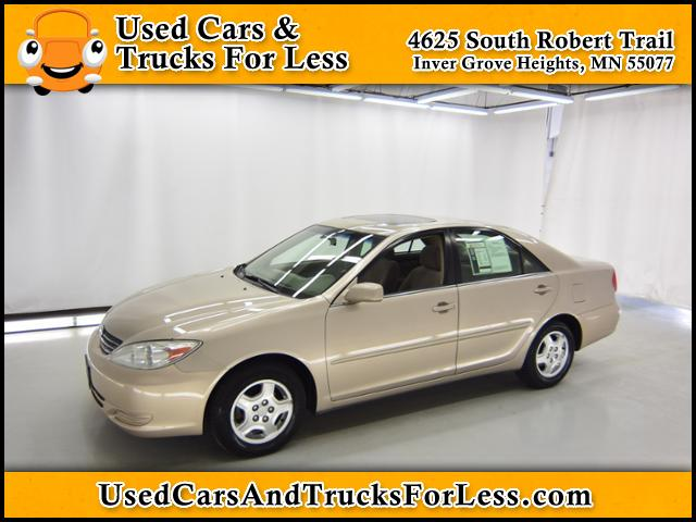Pre-Owned 2002 Toyota Camry LE FWD 4dr Car